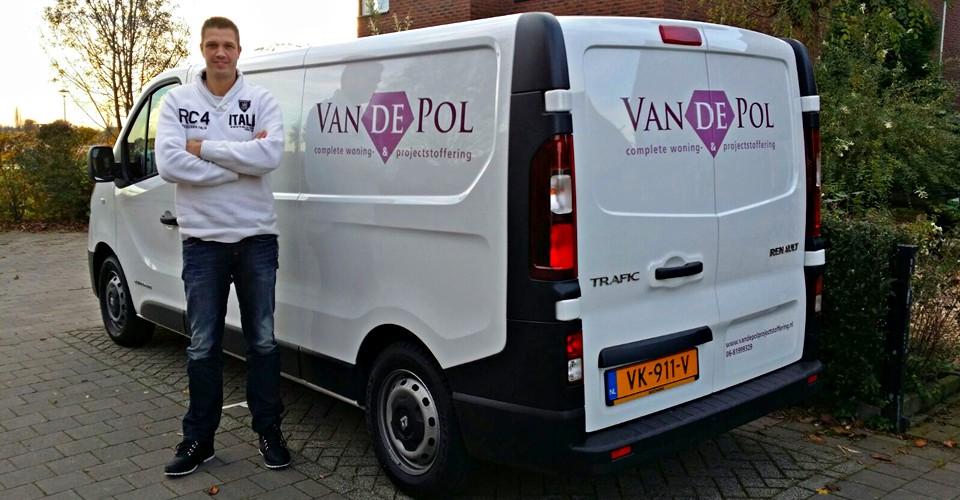 Ron van de Pol eigenaar van de Pol projectstoffering